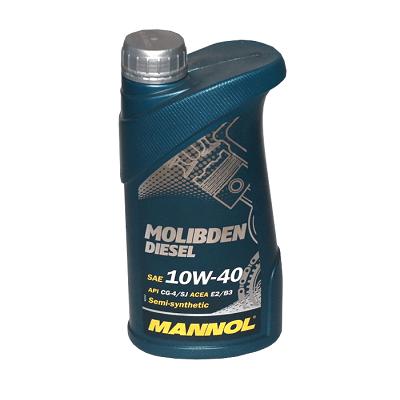 MANNOL MOLIBD DIESEL 1L Полусинтетическое моторное масло в Нур-Султане (Астане)