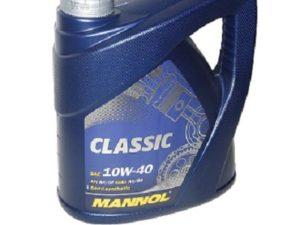 Mannol CLASSIC 10W40 4L Полусинтетическое моторное масло в Нур-Султане (Астане)