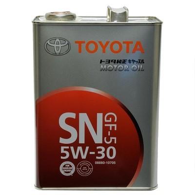 TOYOTA 5W30 SN 4L 08880-10705 Синтетическое моторное масло в Нур-Султане (Астане)