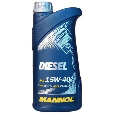 MANNOL DIESEL 15W40 1 L Всесезонное моторное масло в Нур-Султане (Астане)