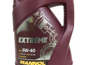 Mannol Extrem 5w40 4l Всесезонное моторное масло в Нур-Султане (Астане)