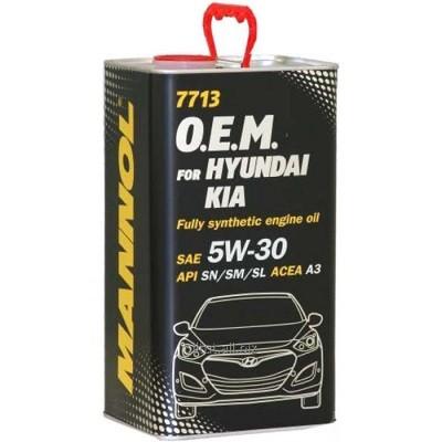 MANNOL O.E.M. Hyundai/Kia 5w30 SN 7713 1l Синтетическое моторное масло в Нур-Султане (Астане)