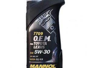 MANNOL O.E.M. Toyota/Lexus 5w30 sn/cf 1l Синтетическое моторное масло в Нур-Султане (Астане)