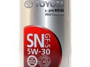 TOYOTA 5W30 SN 1L ж.б.(моторное масло)