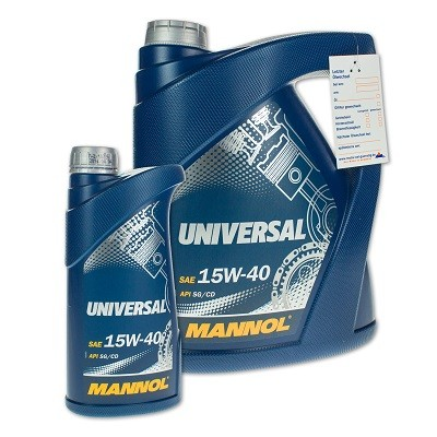 Mannol universal 15w40 4л Минеральное моторное масло в Нур-Султане (Астане)