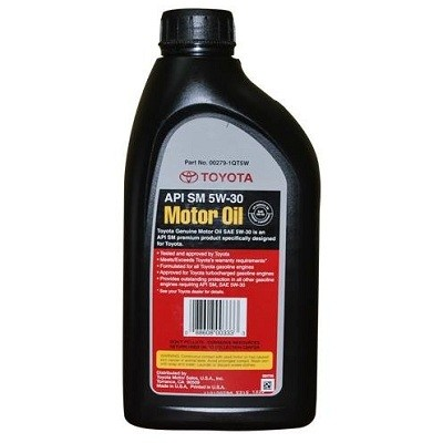 TOYOTA 5W30 USA 1L (пластик) Моторное масло в Нур-Султане (Астане)