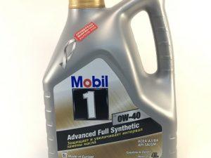 Mobil 0W40 4л Синтетическое моторное масло в Нур-Султане (Астане)