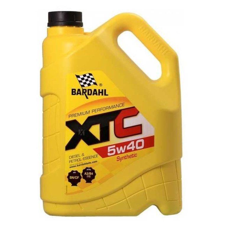 BARDAHL 5w40 XTC 5L Синтетическое моторное масло в Нур-Султане (Астане)