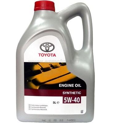 TOYOTA 5W40 SN пластик 5L Синтетическое моторное масло в Нур-Султане (Астане)