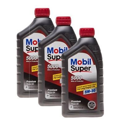 MOBIL SUPER 5000 5W30 1L Синтетическое моторное масло