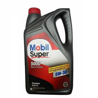 MOBIL SUPER 5000 5W30 5L Полусинтетическое моторное масло в Нур-Султане (Астане)