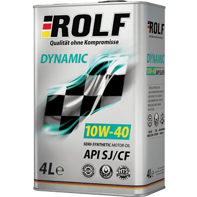 ROLF Dynamic 10W40 SJ/SF 4 L Полусинтетическое моторное масло в Нур-Султане (Астане)
