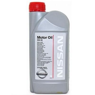 NISSAN 5W30 1л пластик банка