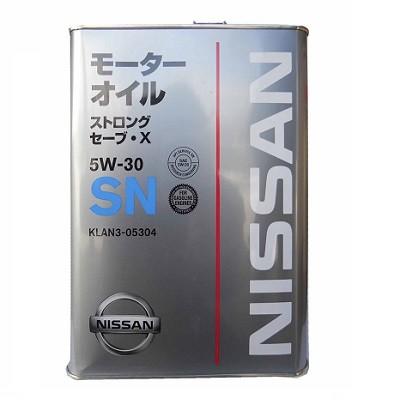 NISSAN 5W30 KLAN505301 4л жел. банка Синтетическое моторное масло в Нур-Султане (Астане)