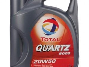 Total 5000 20w50 4л Минеральное моторное масло в Нур-Султане (Астане)
