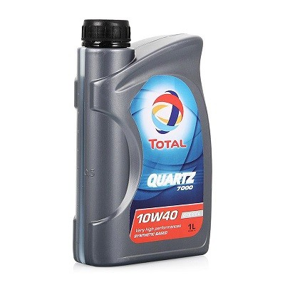 Total 7000 10w40 1л Полусинтетическое моторное масло в Нур-Султане (Астане)