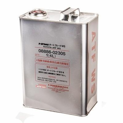 TOYOTA WS 0888602305 4L Ж.Б. (масло в АКПП)