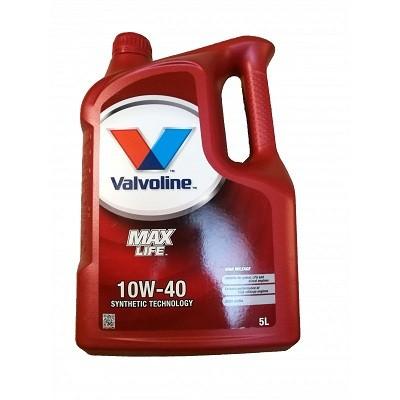 VALVOLINE MAXLIFE 10W40 5L Полусинтетическое моторное масло в Нур-Султане (Астане)