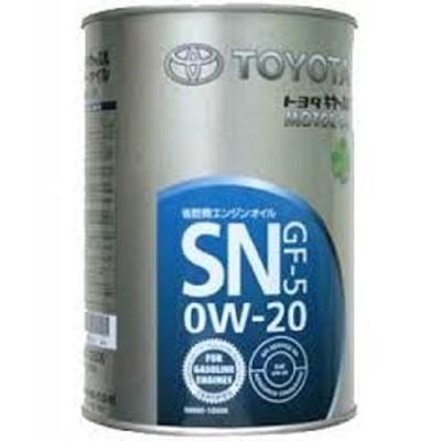 TOYOTA 0W20 SN 1L ж.б Синтетическое моторное масло в Нур-Султане (Астане)