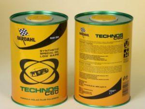BARDAHL OIL TECHNOS C60 5W30 1L Синтетическое моторное масло в Нур-Султане (Астане)