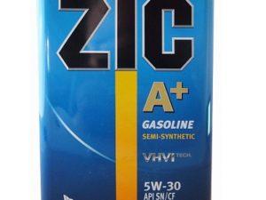 ZIC A+5W30 4 L Полусинтетическое моторное масло в Нур-Султане (Астане)