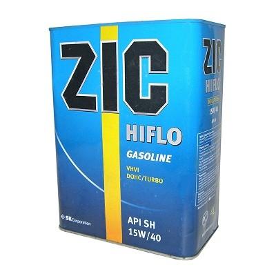 ZIC HIFLO 15w40 4 L Полусинтетическое моторное масло в Нур-Султане (Астане)
