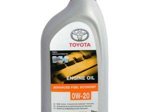 TOYOTA 0W20 SN USA 1L Синтетическое моторное масло в Нур-Султане (Астане)