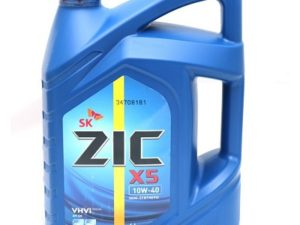 ZIC X5 5W30 6L
