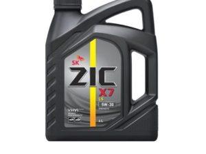 ZIC X7 5W30 DIESEL 4L Синтетическое моторное масло в Нур-Султане (Астане)