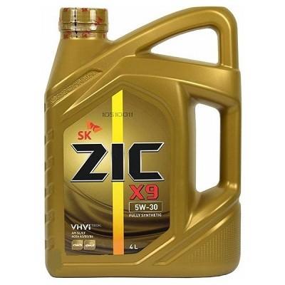 ZIC X9 5W40 4L Синтетическое моторное масло в Нур-Султане (Астане)