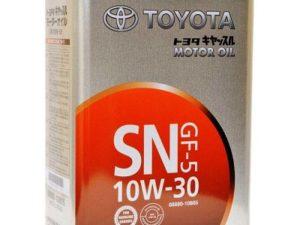 TOYOTA 10W30 SM 4L Ж.Б Полусинтетическое моторное масло в Нур-Султане (Астане)