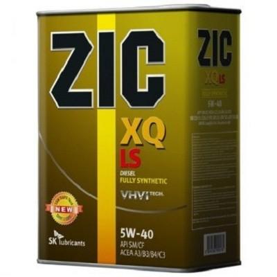 ZIC XQ 5W40 4L Синтетическое моторное масло в Нур-Султане (Астане)