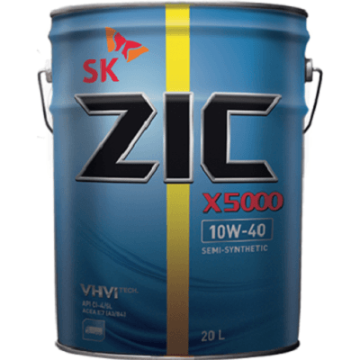ZIC 5000 10W40 20L Полусинтетическое моторное масло в Нур-Султане (Астане)
