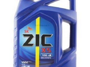 ZIC 5000 10W40 4L Полусинтетическое моторное масло в Нур-Султане (Астане)