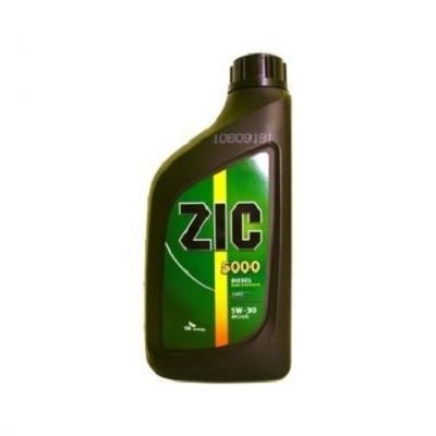 ZIC 5000 5W30 1L Полусинтетическое моторное масло в Нур-Султане (Астане)
