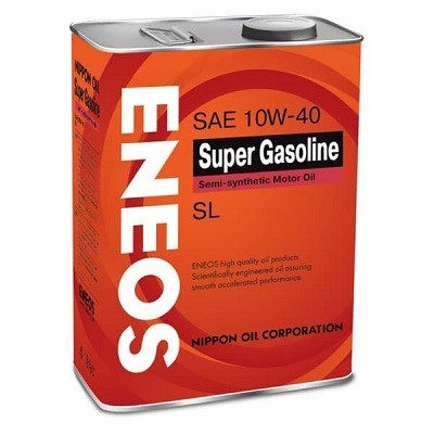 ENEOS SUPER GASOLINE SL10W40 4L Полусинтетическое моторное масло в Нур-Султане (Астане)