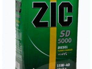 ZIC CD 5000 15W40 4L Минеральное моторное масло в Нур-Султане (Астане)