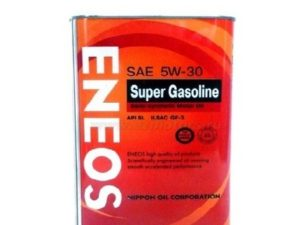 ENEOS SUPER GASOLINE SS SL 5W30 4L Полусинтетическое моторное масло в Нур-Султане (Астане)