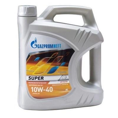 Gazpromneft Super 10w40 4л Полусинтетическое моторное масло в Нур-Султане (Астане)