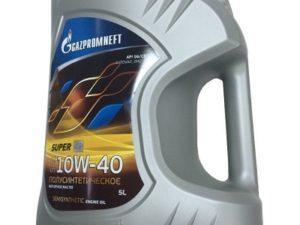 Gazpromneft Super 10w40 5л Полусинтетическое моторное масло Нур-Султане (Астане)