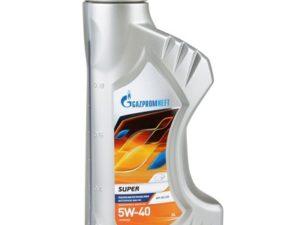 Gazpromneft Super 5w40 1л Полусинтетическое моторное масло в Нур-Султане (Астане)