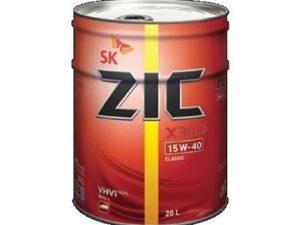 ZIC X3000 15W40 20 L