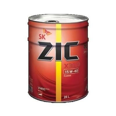 ZIC X3000 15W40 20 L Полусинтетическое моторное масло в Нур-Султане (Астане)