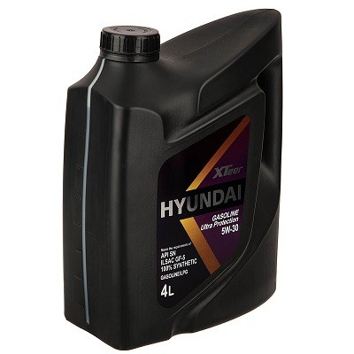 Hyundai Xteer 5w30 4л Синтетическое моторное масло