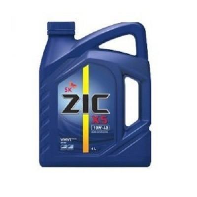 ZIC X5 10W40 4L Полусинтетическое моторное масло в Нур-Султане (Астане)