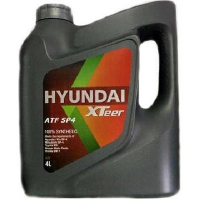 Hyundai Xteer ATF SP4 4л Синтетическая трансмиссионная жидкость в Нур-Султане (Астане)