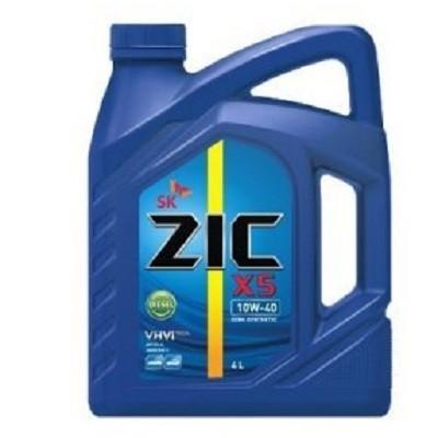 ZIC X5 10W40 DIESEL 4L Полусинтетическое моторное масло в Нур-Султане (Астане)
