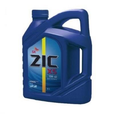 ZIC X5 10W40 DIESEL 6L Полусинтетическое моторное масло в Нур-Султане (Астане)