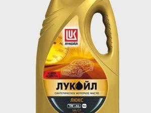 Лукоил ЛЮКС 5W40 полусинт 4L Моторные масла в Нур-Султане (Астане)