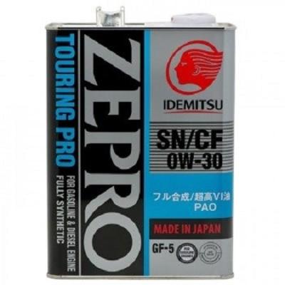IDEMITSU ZEPRO TOURING PRO SN/GF-5 0W30 4л Синтетическое моторное масло в Нур-Султане (Астане)